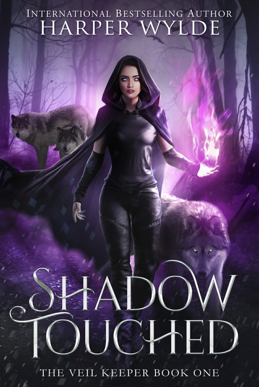Shadow Touched by Harper Wylde - A Book Review #BookReview #Review #PNR #Paranormal #Witches #SkinWalkers #4Stars #SlowBurn #RH #WhyChoose #KU