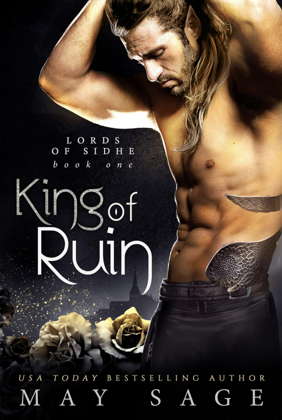 King of Ruin by May Sage - A Book Review #BookReview #Review #Fantasy #FantasyRomance #Romance #Book1 #4Stars #Fae #Gods #Realms