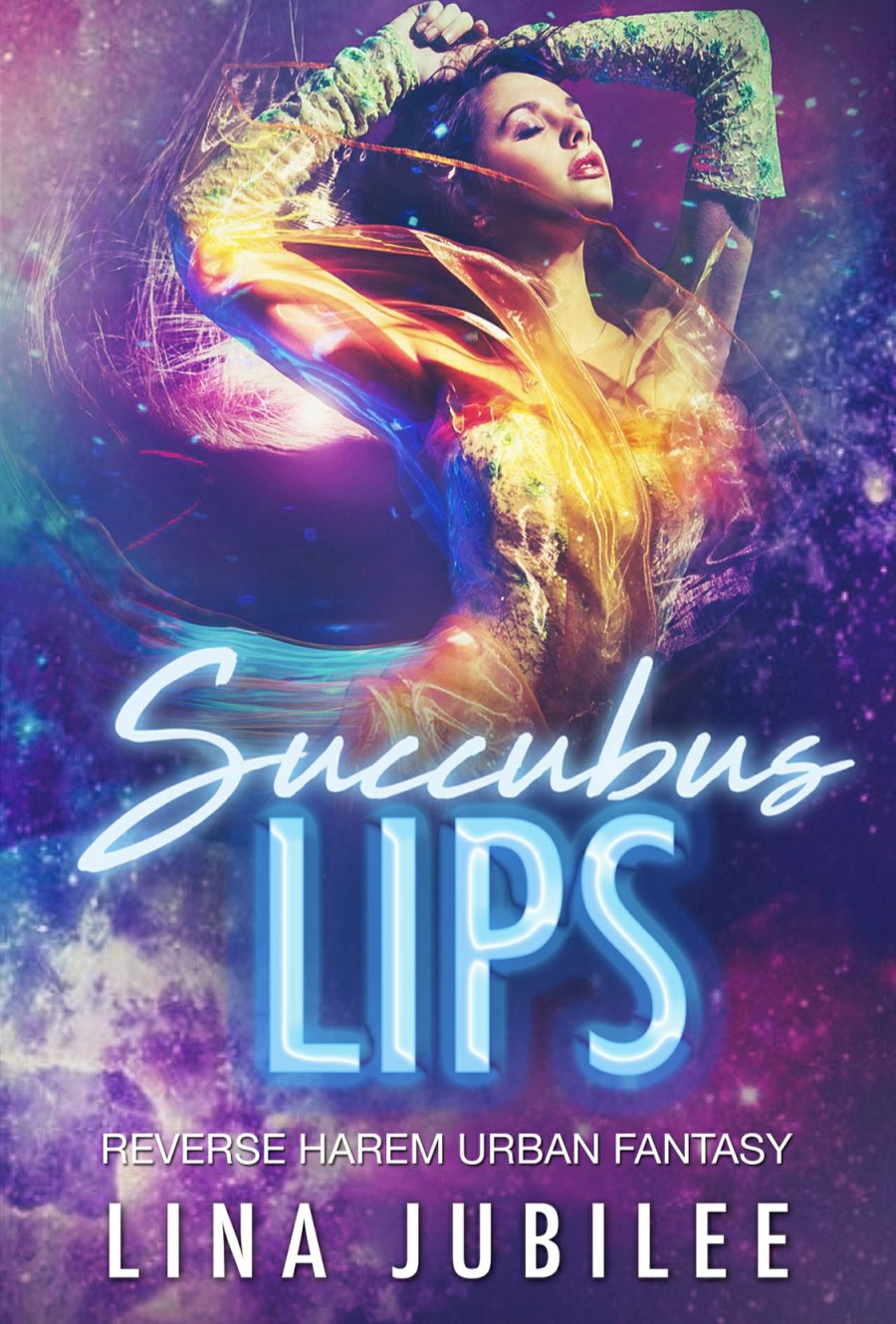 Succubus Lips (Succubus Sirens - Book 1) by Lina Jubilee - A Book Review #BookReview #UrbanFantasy #RH #FastBurn #WhyChoose #ReverseHarem #StandAlone #HEA #KindleUnlimited