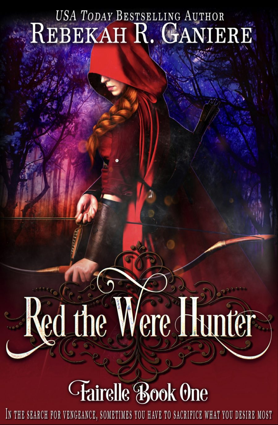 Red the Were Hunter (Fairelle - Book 1) by Rebekah R. Ganiere - A Book Review #BookReview #Fantasy #Fairytale #RedRidingHood #Shifters #HEA #OldRelease #KU #KindleUnlimited