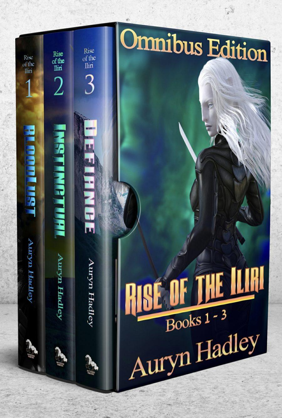 Rise of The Iliri: Book 1-3 (Box Set) by Auryn Hadley - A Book Review #EpicFantasy #SlowBurn #RH #SciFi #5Stars #BoxSet #KindleUnlimited #KU #Omnibus