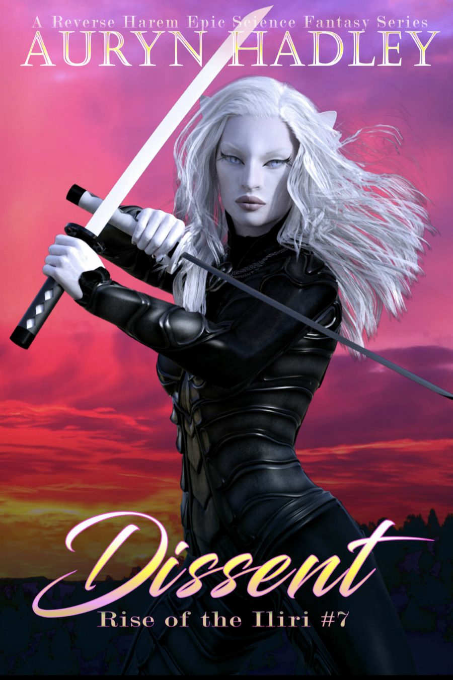 Dissent (Rise of the Iliri - Book 7) by Auryn Hadley - A Book Review #BookReview #EpicFantasy #SlowBurn #RH #SciFi #5Stars #ROTI #KindleUnlimited #KU
