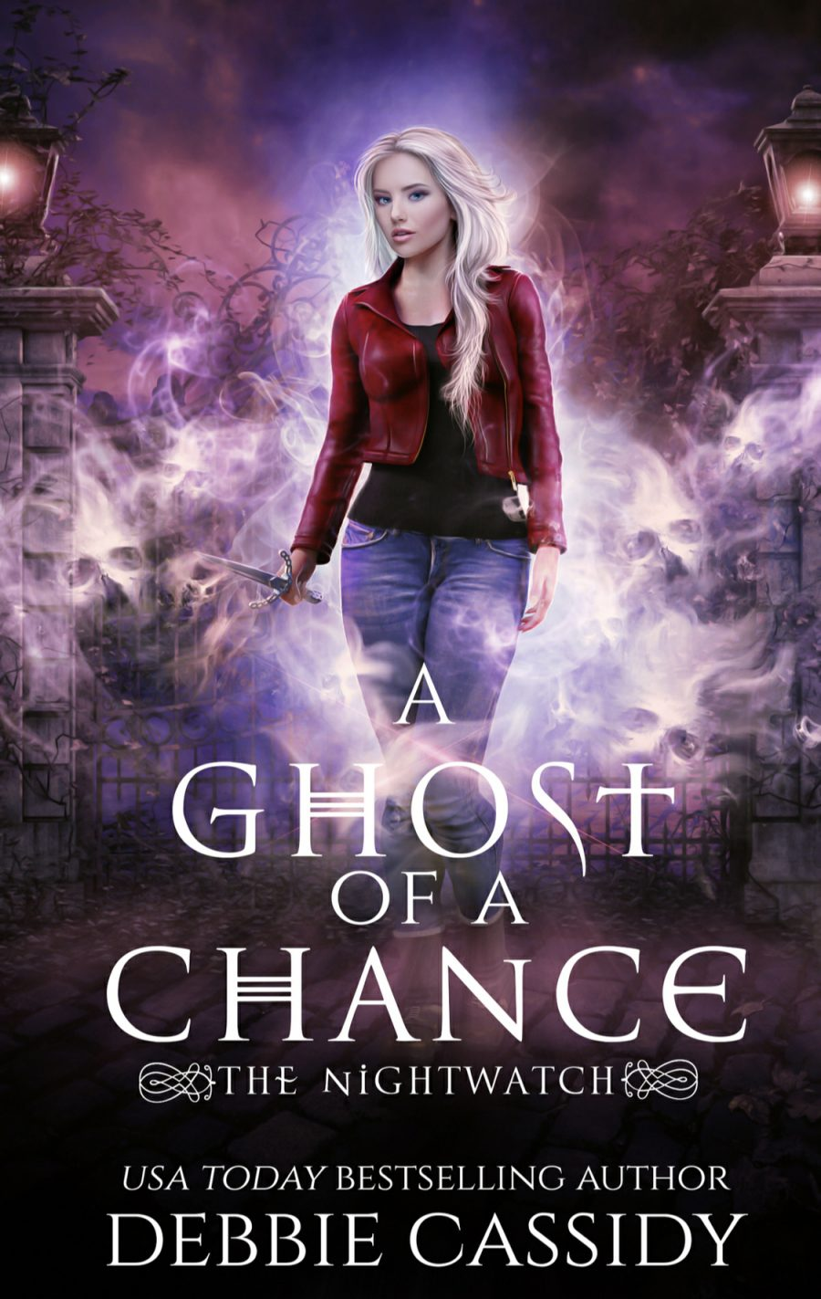 A Ghost of a Chance (Nightwatch - Book 1) by Debbie Cassidy - A Book Review #BookReview #UrbanFantasy #UF #4Stars #KindleUnlimited #KU