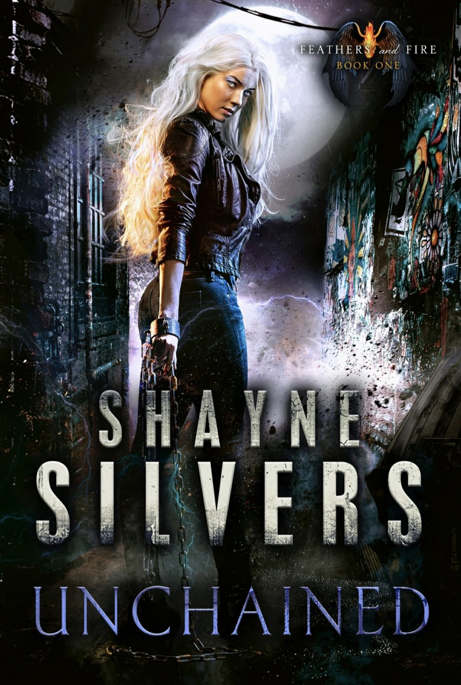 Unchained (Feathers and Fire - Book 1) by Shayne Silvers - A Book Review #BookReview #UrbanFantasy #UF #4stars #KindleUnlimited #KU #NateSilvers