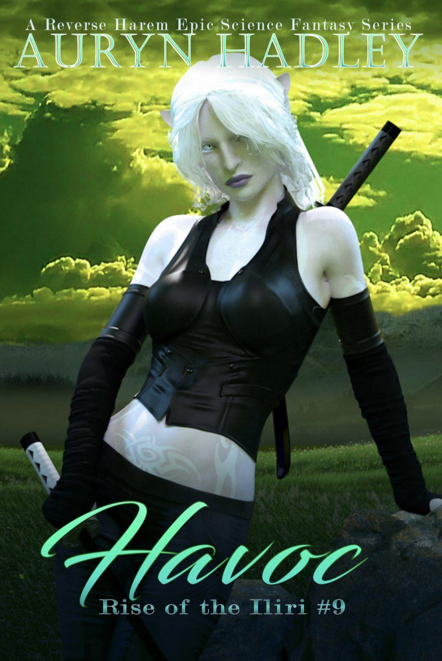 Havoc (Rise of the Iliri - Book #9) by Auryn Hadley - A Book Review #BookReview #EpicFantasy #SciFi #SlowBurn #RH #KindleUnlimited