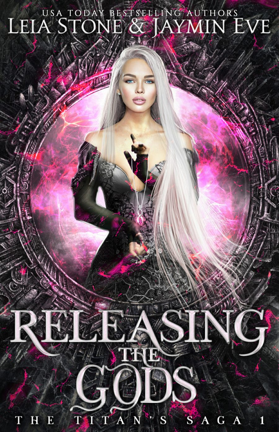 Releasing The Gods by Jaymin Eve & Leia Stone - A Book Review #BookReview #YAFantasy #PNR #SlowBurn #Gods #PopCulture #KindleUnlimited #KU