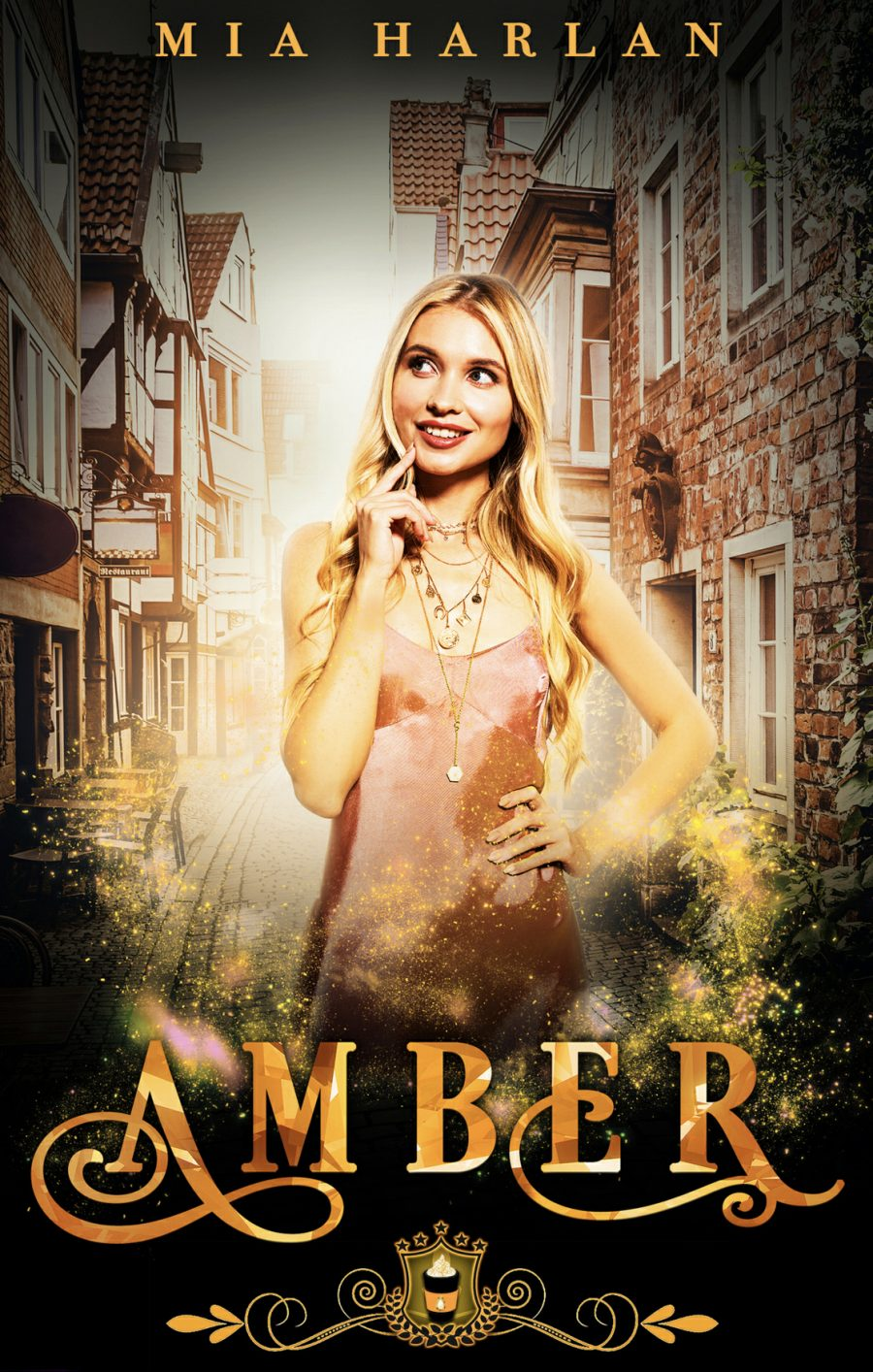 Amber (Jewels Cafe - Book 1) by Mia Harlan - A Book Review #BookReview #FastBurn #RH #ReverseHarem #HEA #StandAlone #PNR #KindleUnlimited #KU
