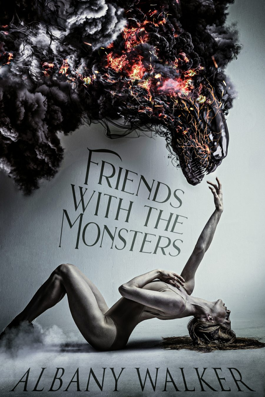 Friends With The Monsters by Albany Walker - A Book Review #BookReview #FastBurn #MediumBurn #RH #ReverseHarem #PNR #Monsters #KindleUnlimited #KU