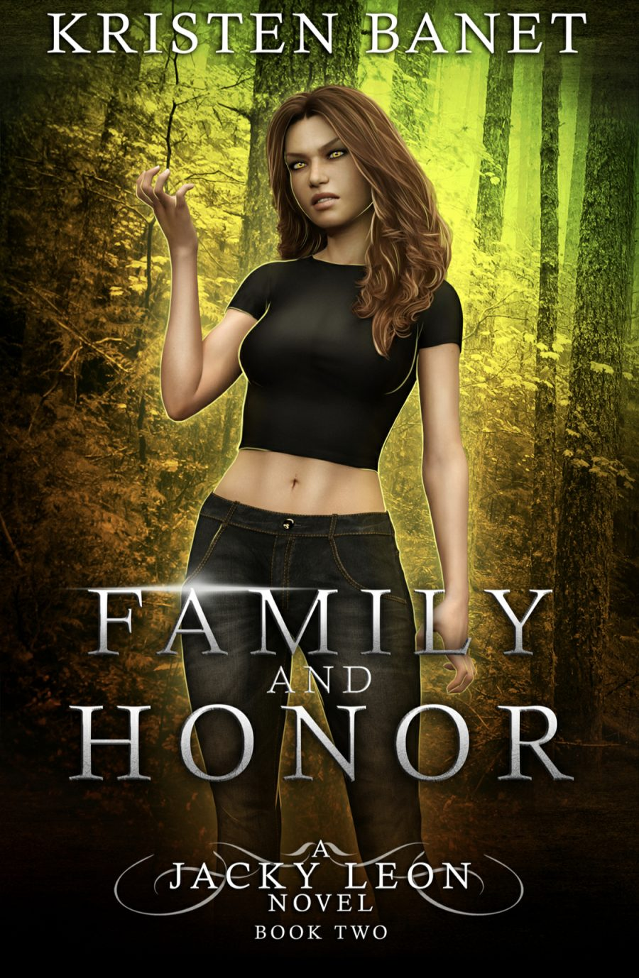 Family and Honor by Kristen Banet - A Book Review #BookReview #UF #UrbanFantasy #Book2 #JackyLeon #Shifters #WouldRecommend #5Stars #KindleUnlimited #KU