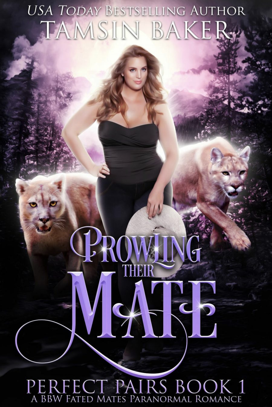 Prowling Their Mate by Tasmin Baker - A Book Review #BookReview #PNR #Menage #FatedMates #BBW #Shifters #HEA #StandAlone #KindleUnlimited #KU
