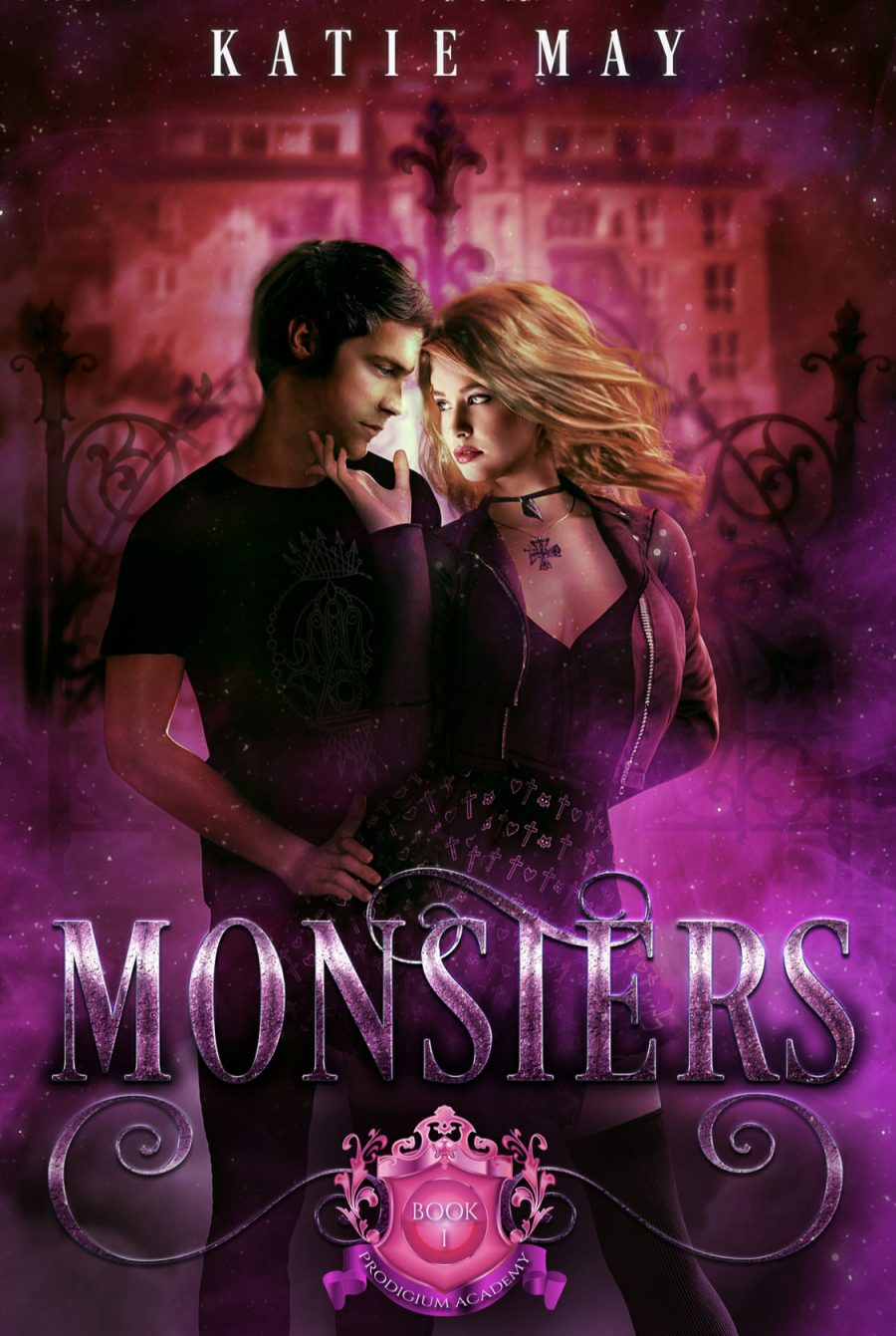Monsters by Katie May - A Book Review #BookReview #RH #WhyChoose #ReverseHarem #SlowBurn #PNR #Academy #Monsters