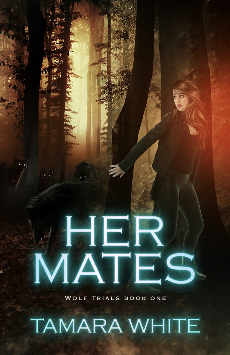 Her Mates (Wolf Trials - Book 1) by Tamara White - A Book Review #BookReview #3Stars #Revision #SlowBurn #RH #PNR #Shifters #KindleUnlimited #KU