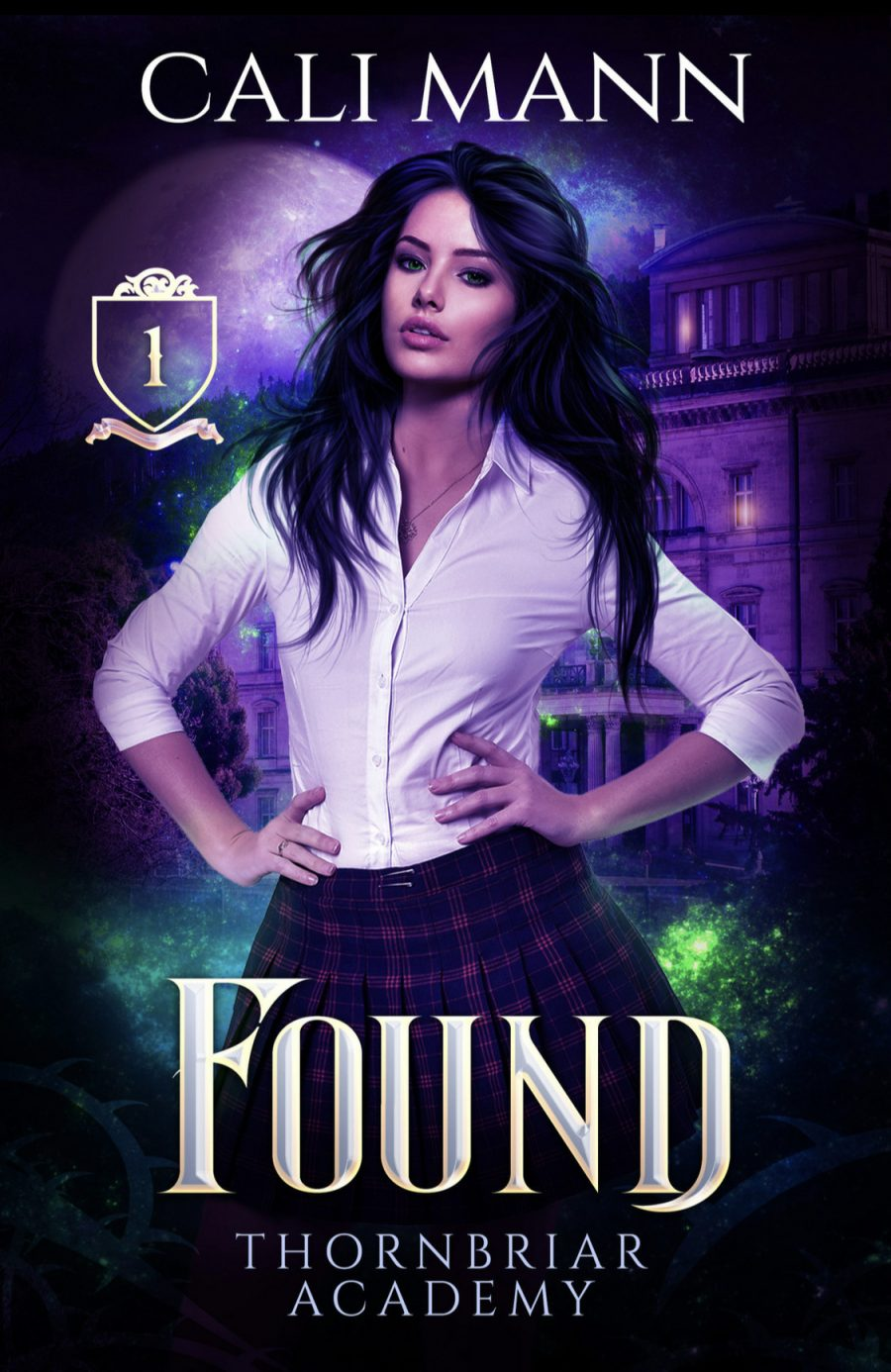 Found (Thornbriar Academy - Book 1) by Cali Mann - A Book Review #BookReview #Academy #MediumBurn #RH #ReverseHarem #WhyChoose #PNR #KindleUnlimited #KU