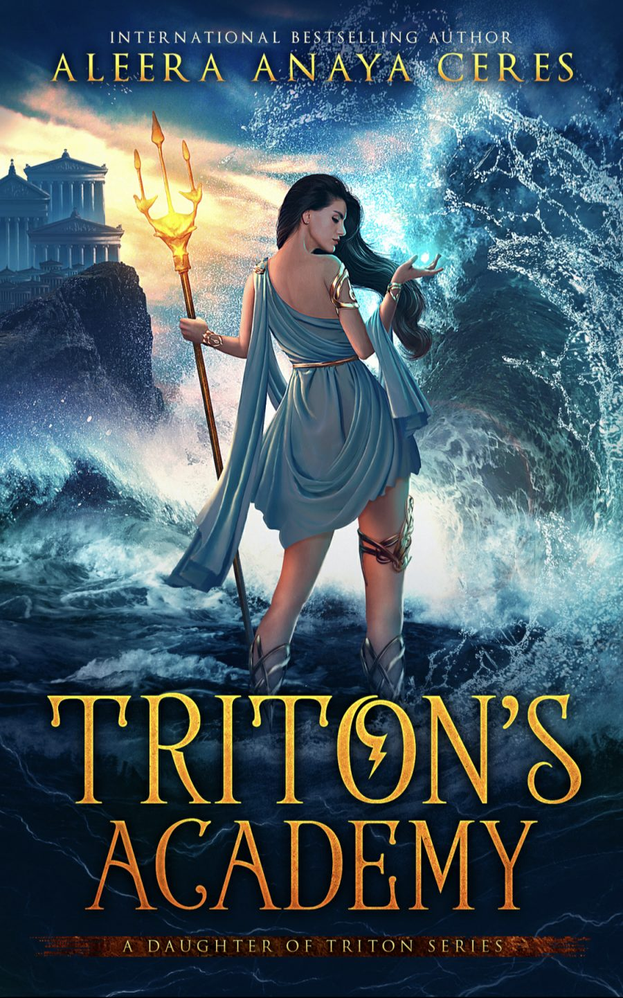 Triton's Academy by Aleera Anaya Ceres - A Book Review #BookReview #MediumBurn #RH #ReverseHarem #Mermaids #Gods #WhyChoose #Academy #4Stars #KindleUnlimited #KU