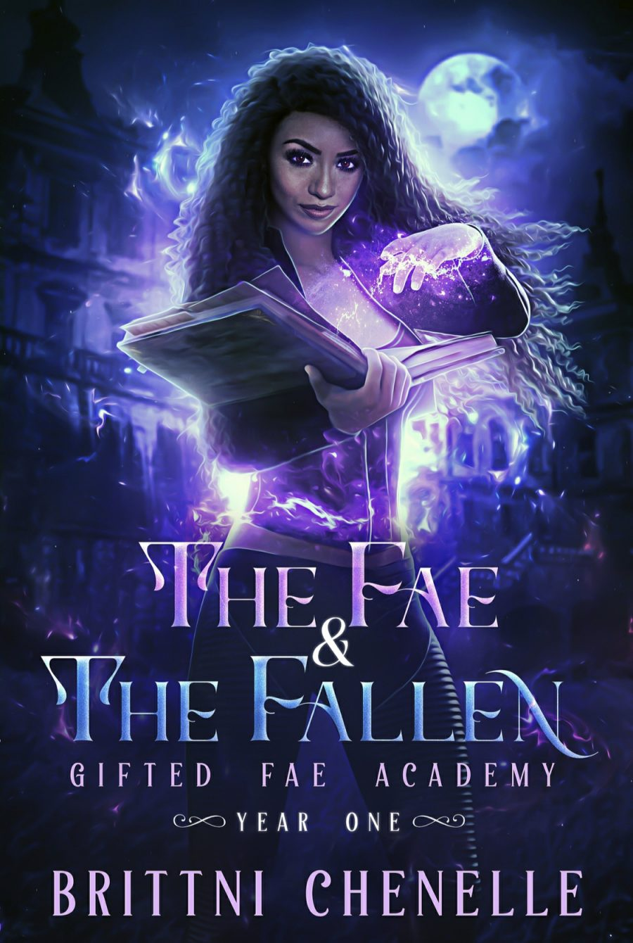 The Fae & The Fallen (Gifted Fae Academy - Book 1) by Brittni Chenelle - A Book Review #BookReview #PNR #XMen #Academy #UpperYA #Cliffhanger #KindleUnlimited #KU