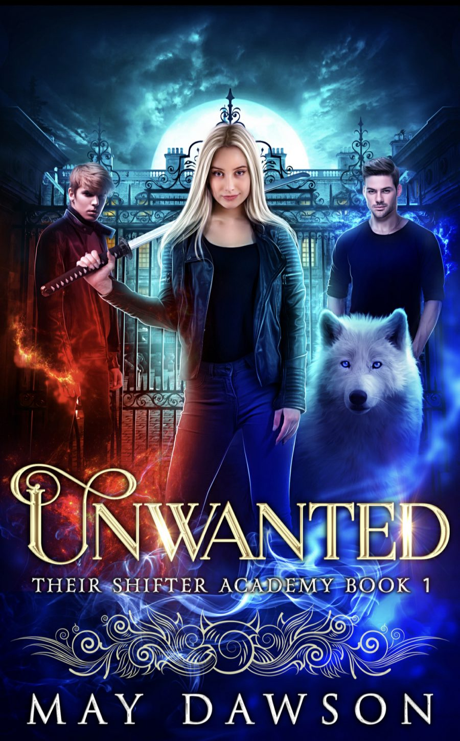 Unwanted (Their Shifter Academy - Book 1) by May Dawson - A Book Review #BookReview #PNR #Academy #SlowBuild #MediumBurn #RH #KindleUnlimited #KU