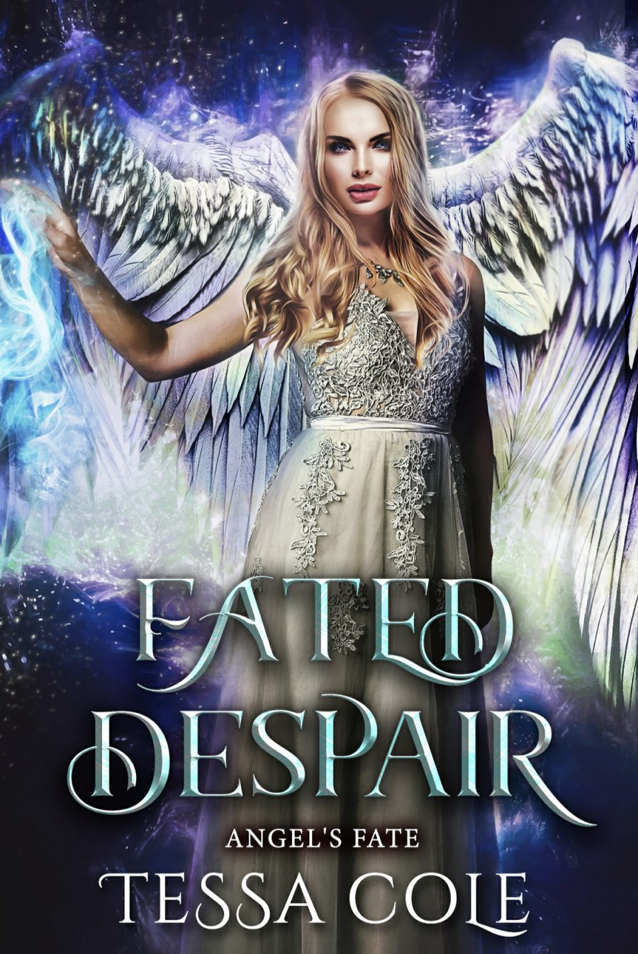 Fated Despair (Angel's Fate - Book 4) by Tess Cole - A Book Review #BookReview #SlowBurn #RH #Fantasy #4Stars #Angels #KindleUnlimited #KU