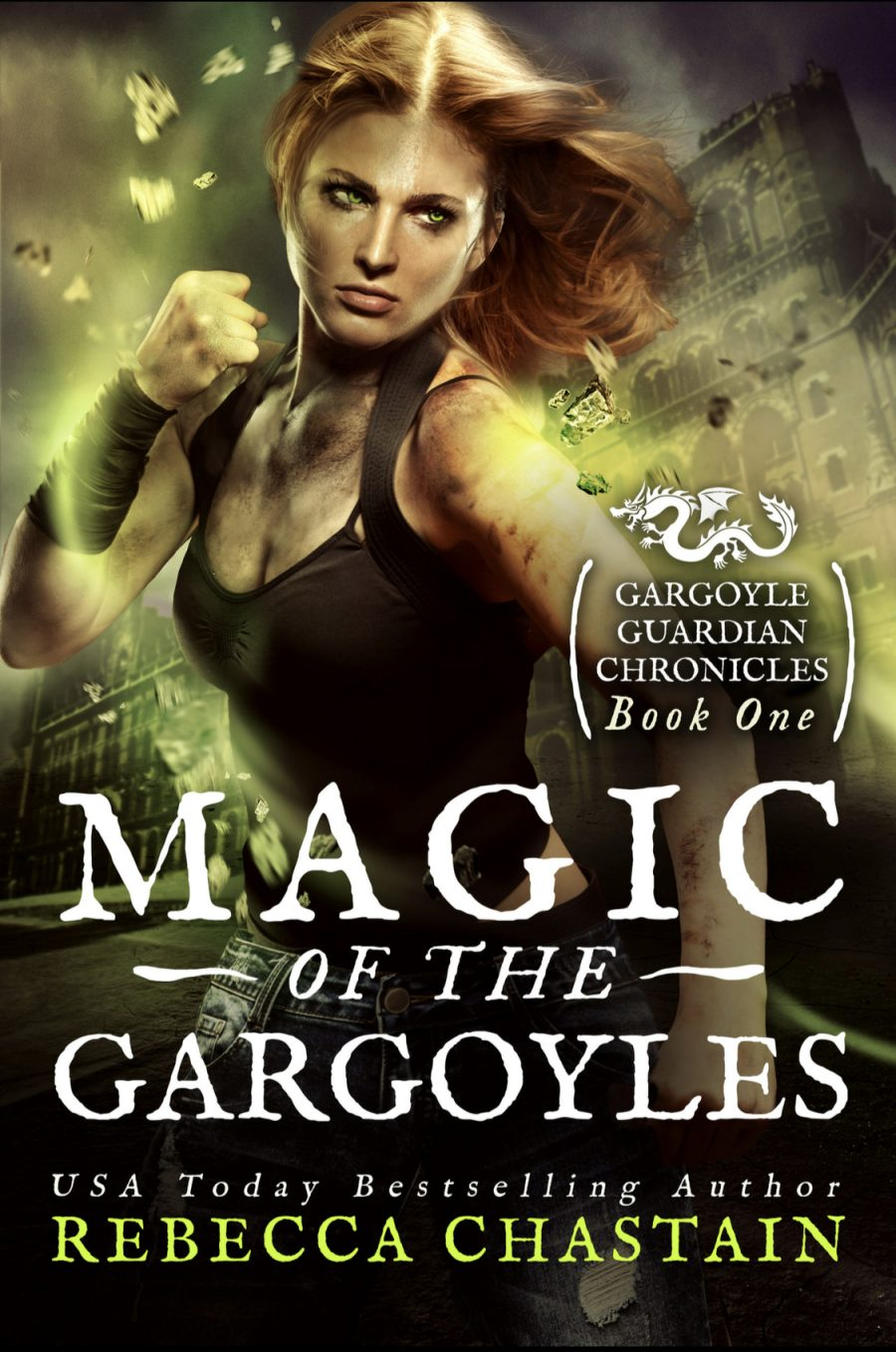 Magic of The Gargoyles (Gargoyle Guardian Chronicles - Book 1) by Rebecca Chastain - A Book Review #BookReview #UrbanFantasy #Novella #OlderRelease #4Stars #SeriesComplete #FreeBook