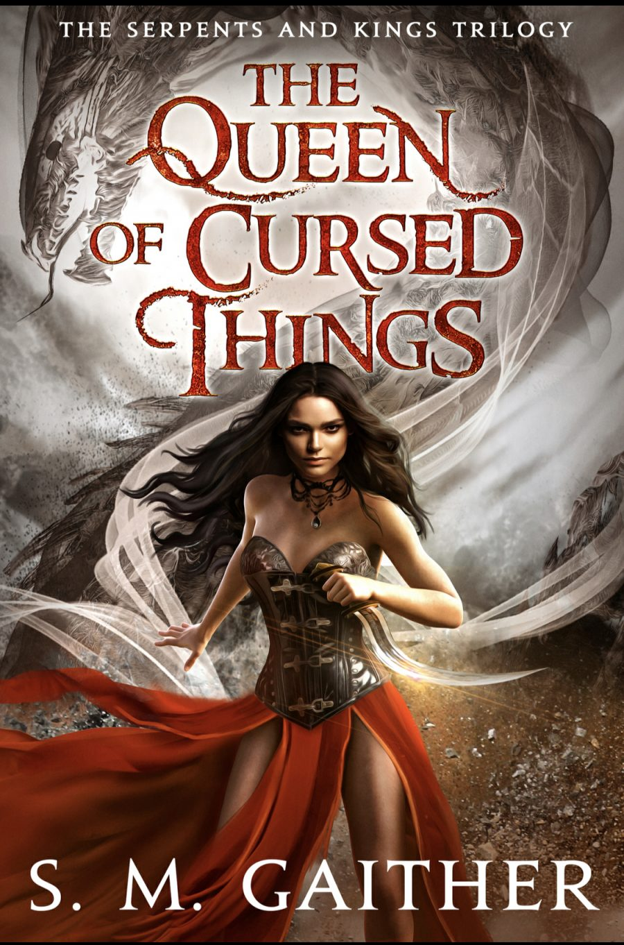 The Queen of Cursed Things (Serpents and Kings - Book 1) by S.M. Gaither - A Book Review #BookReview #Fantasy #3Stars #KindleUnlimited #KU