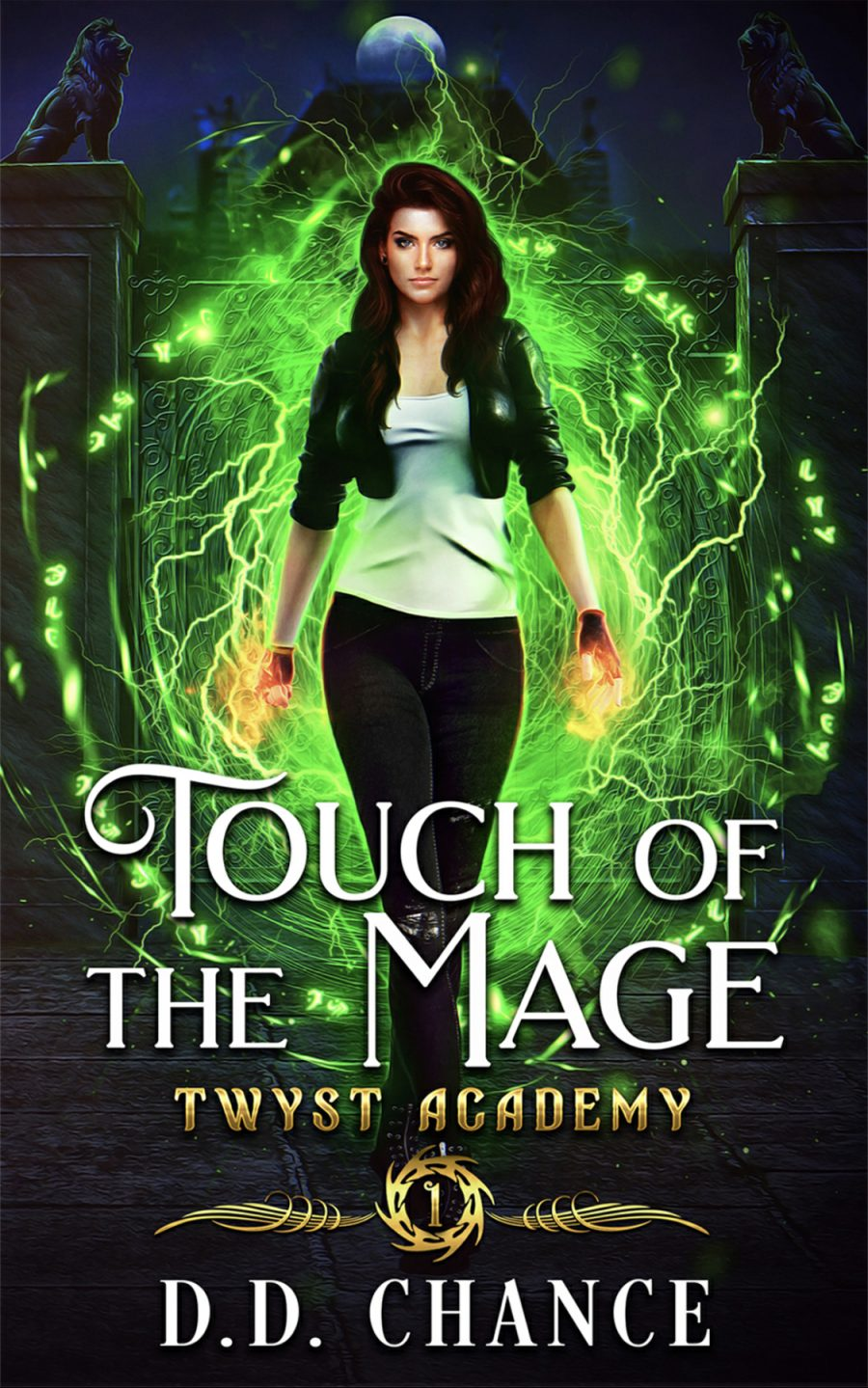 Touch of The Mage (Twyst Academy - Book 1) by D.D. Chance - A Book Review #BookReview #SlowBurn #RH #Academy #University #NA #PNR #4Stars #KindleUnlimited #KU