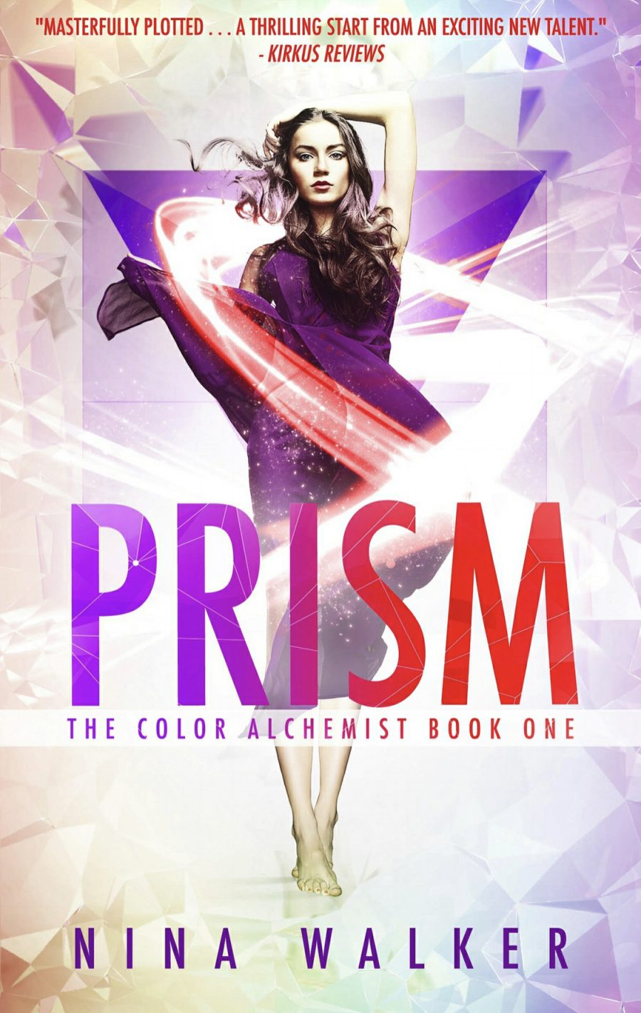 Prism (The Color Alchemist - Book 1) by Nina Walker - A Book Review #BookReview #YA #YANovel #3Stars #SeriesComplete #KindleUnlimited #KU #PNR #Dystopian