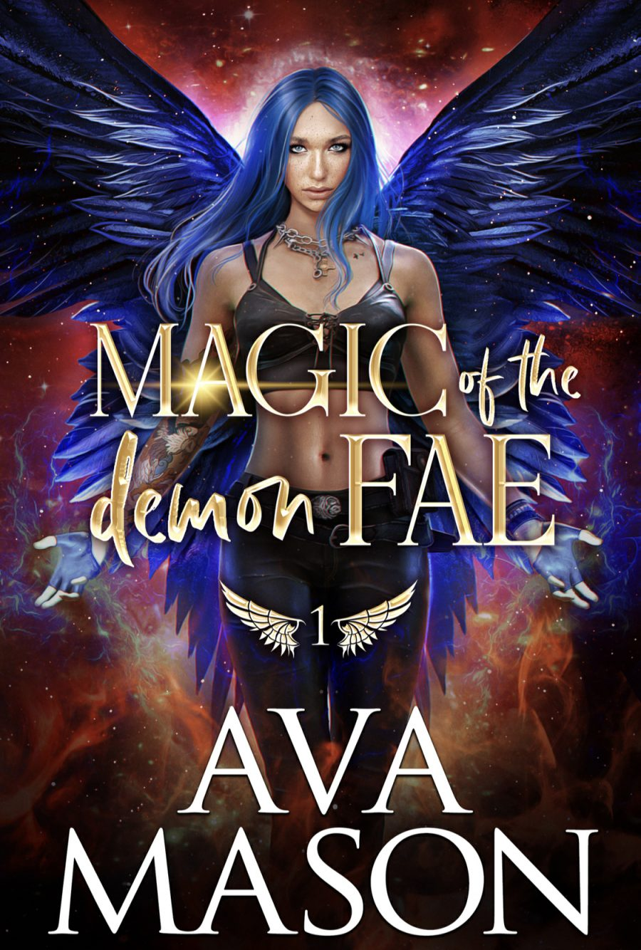 Magic of the Demon Fae by Ava Mason - A Book Review #BookReview #MediumBurn #RH #Fantasy #4Stars #KindleUnlimited #KU