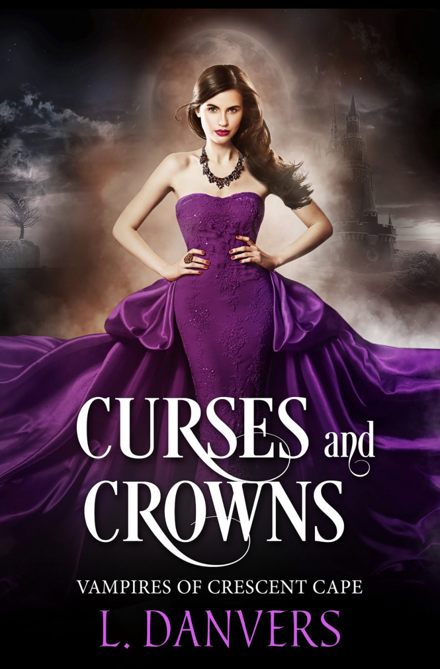 Curses and Crowns by L. Danvers - A Book Review #BookReview #PNR #3Stars #EmotionallyFast #KindleUnlimited #KU #Vampires #Werewolf