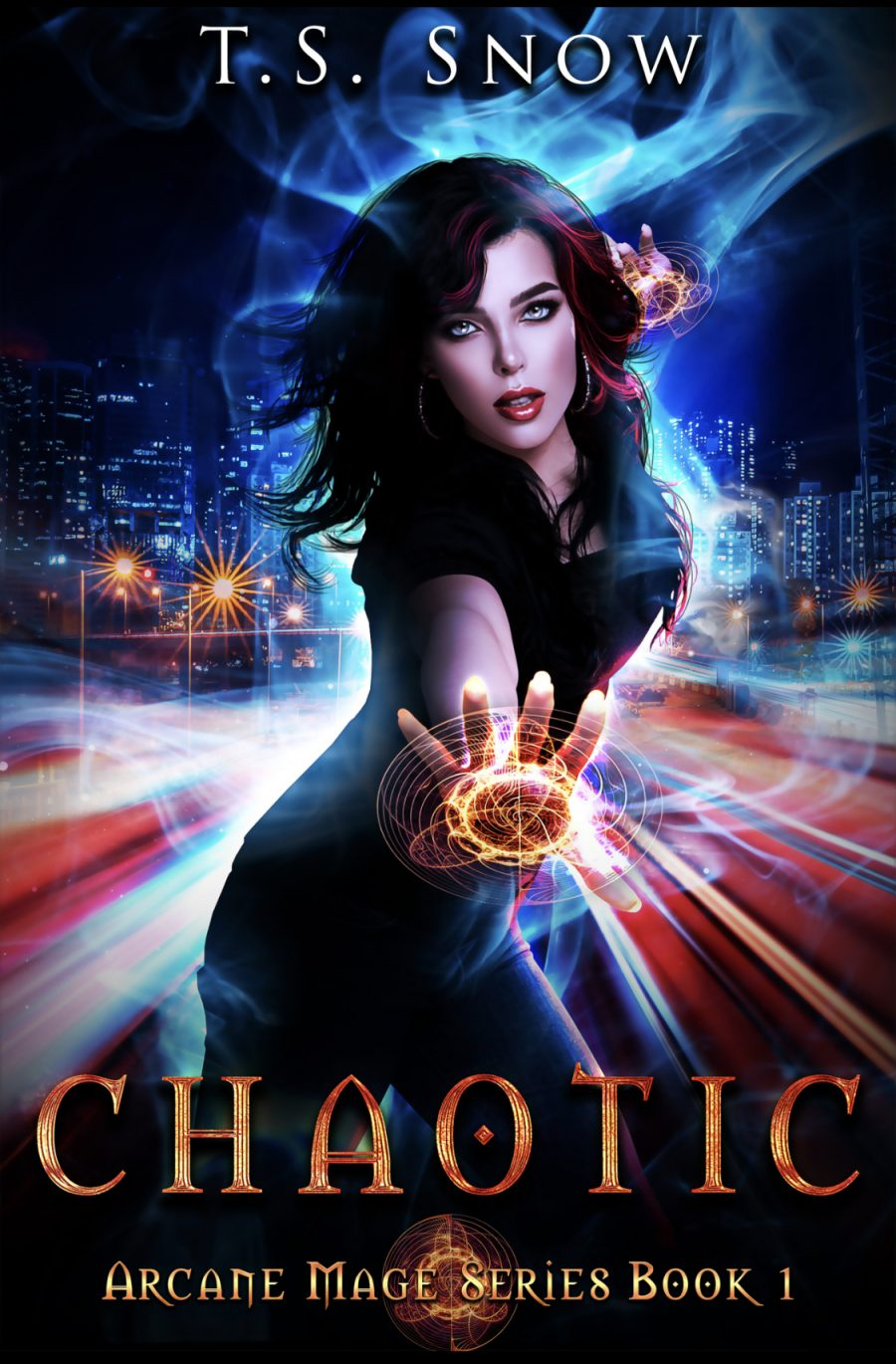 Chaotic (Arcane Mage Series - Book 1) by T.S. Snow - A Book Review #BookReview #PNR #SlowBurn #RH #5Stars #KindleUnlimited #KU