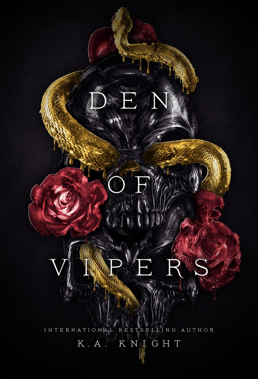 Den of Vipers by K.A. Knight - A Book Review #BookReview #Dark #StandAlone #RH #Mafia #HEA #4Stars #KindleUnlimited #KU