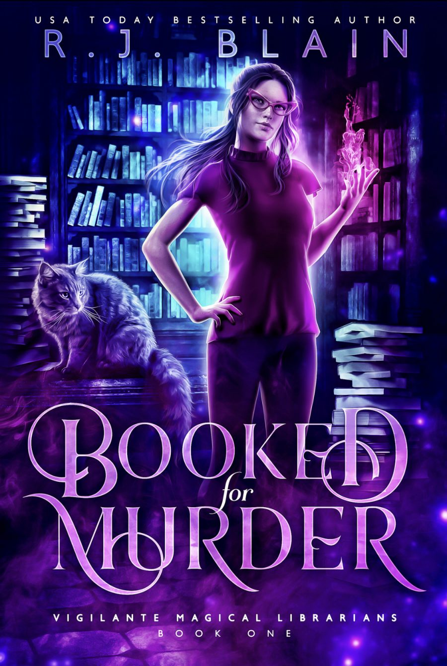 Booked for Murder (Vigilante Magical Librarians - Book 1) by R.J. Blain - A Book Review #NewSeries #UF #UrbanFantasy #NotKU