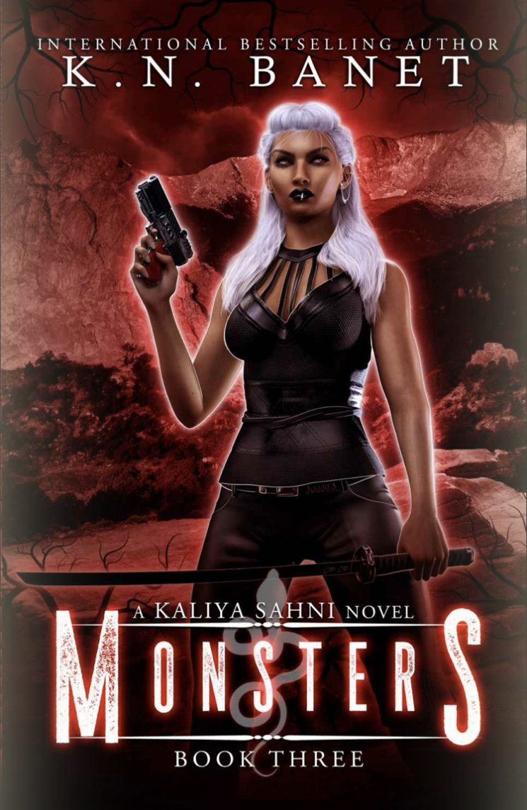 Monsters by K.N. Banet - A Book Review #BookReview #UrbanFantasy #5Stars #Series #KindleUnlimited #KU #MustRead
