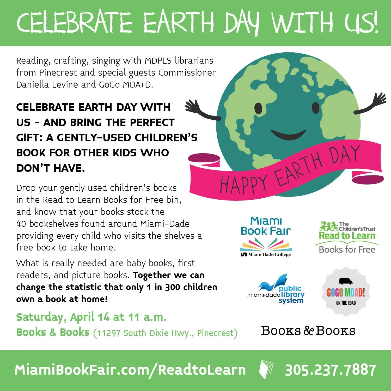 Books Amp Books Earth Day Reading Circle