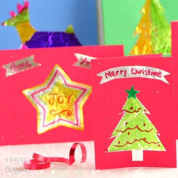 Merry Amp Bright Kids Christmas Cards