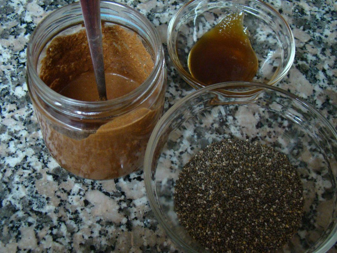 Chocolate Chia-Seed Pudding