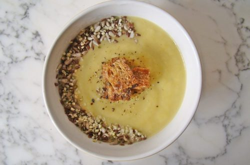 Leek and Potato Cream Soup