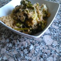 Quinoa Salad with Asparagus and Broccoli