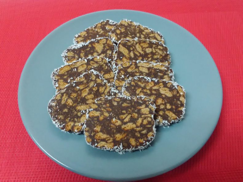 Chocolate Biscuit Salami