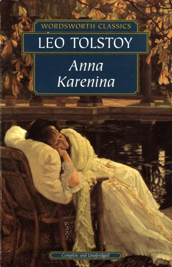 A-Z Challenge (Book-Anna Karenina)