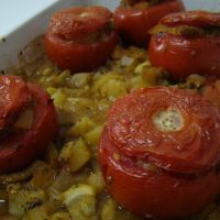 Stuffed Tomatoes with Vegetables