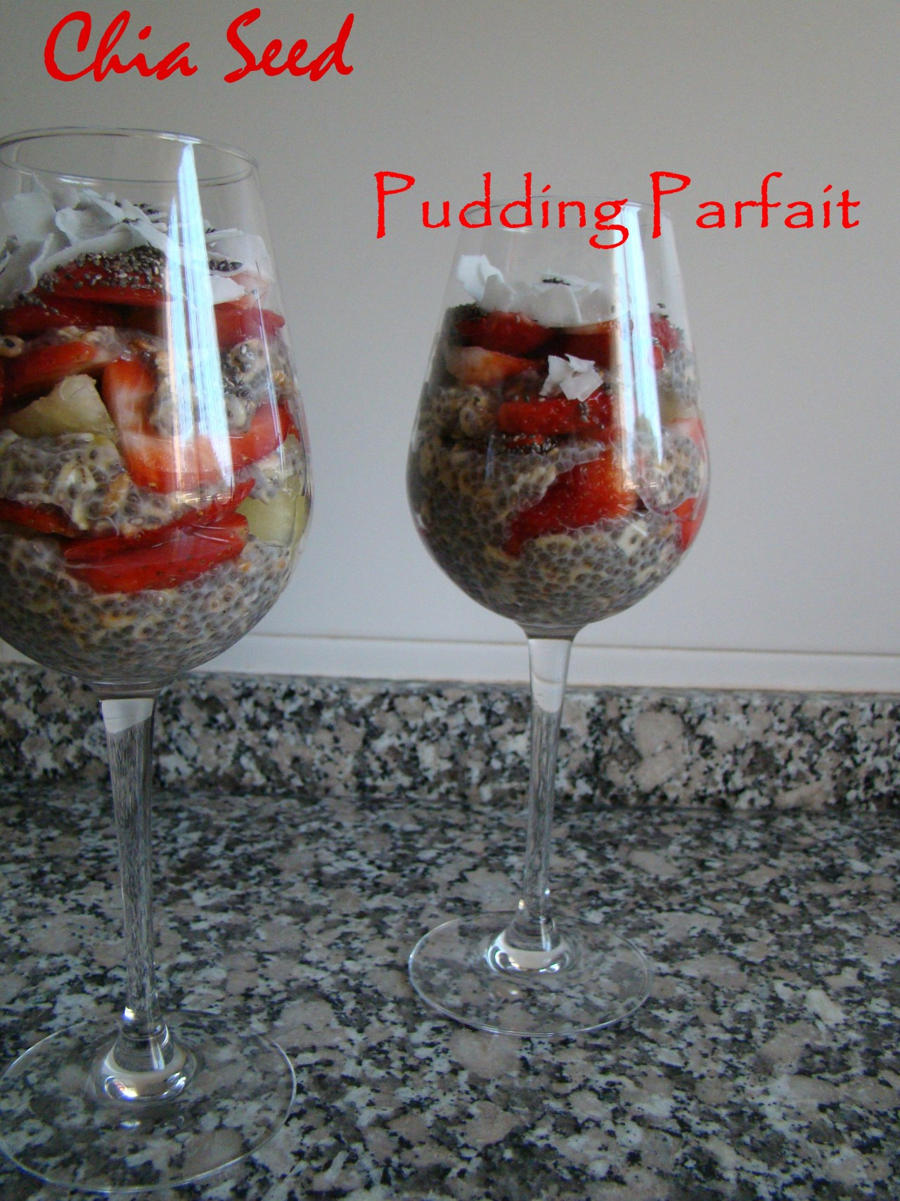 Chia Seed Pudding Parfait