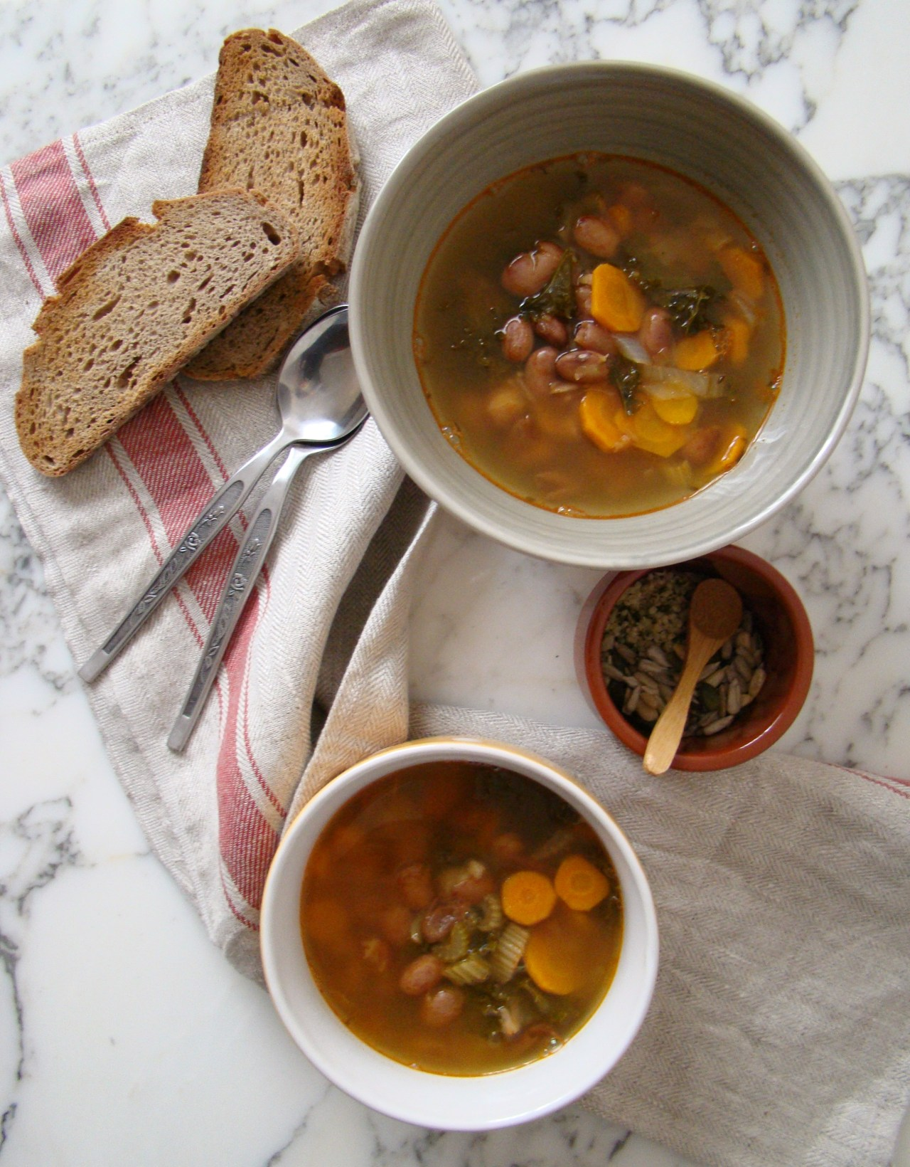 hearty tuscan soup