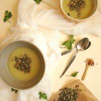 Super Easy Cream of Zucchini Soup
