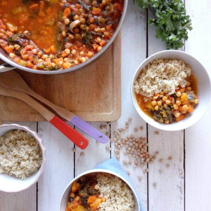 Chickpea and Pumpkin Stew