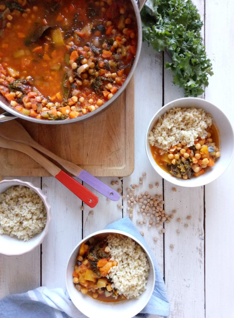 Chickpea and Pumpkin Stew