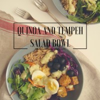 Quinoa and Tempeh Salad Bowl