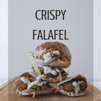 Homemade Crispy Falafel