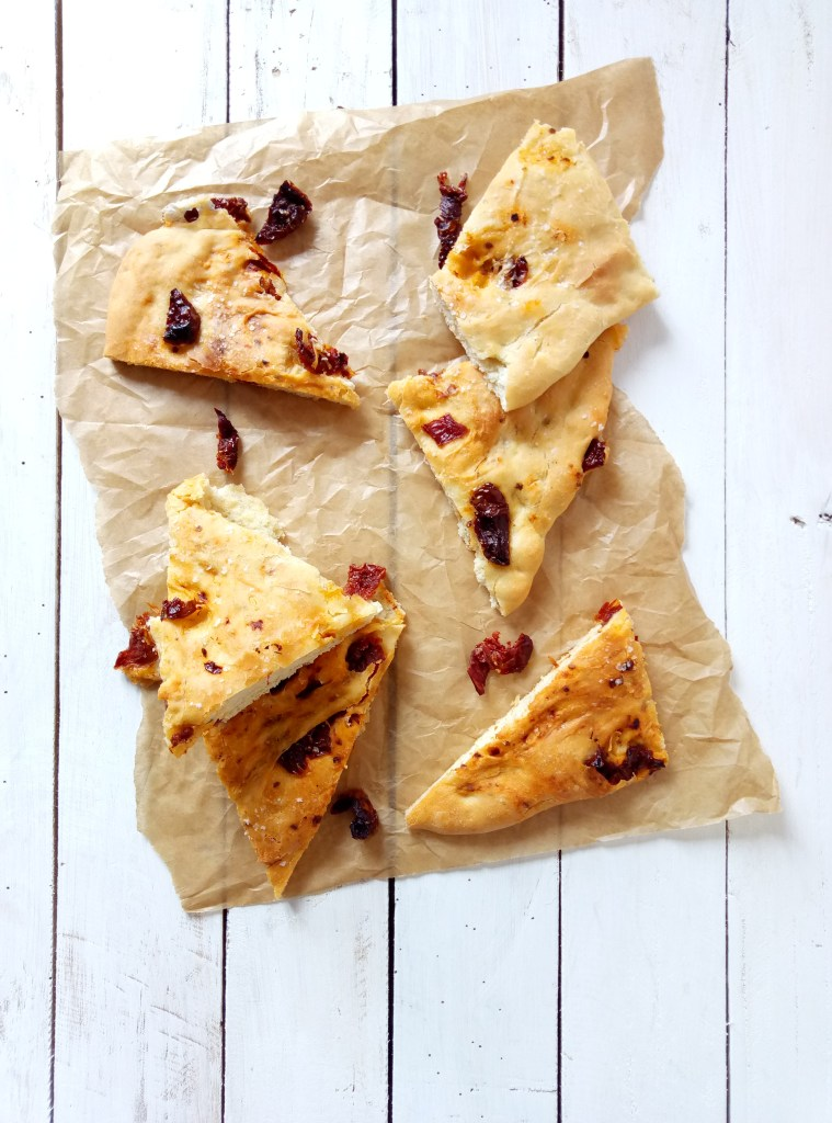 focaccia with sun dried tomatoes
