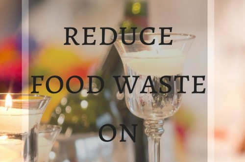 how to reduce food waste on christmas
