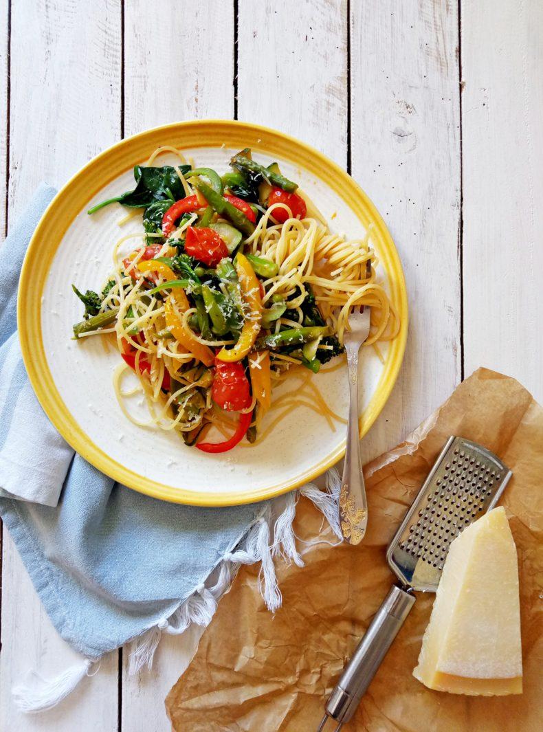 Como Hacer Pasta Primavera+Sorteo