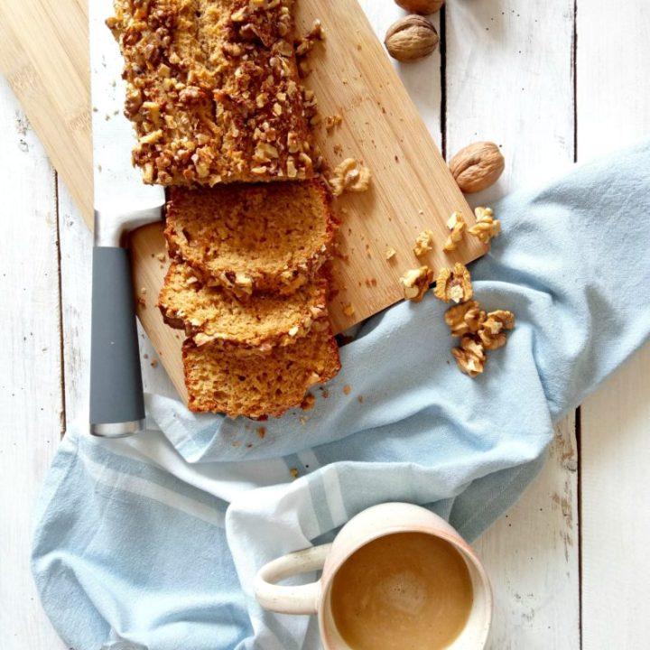 walnut loaf cake